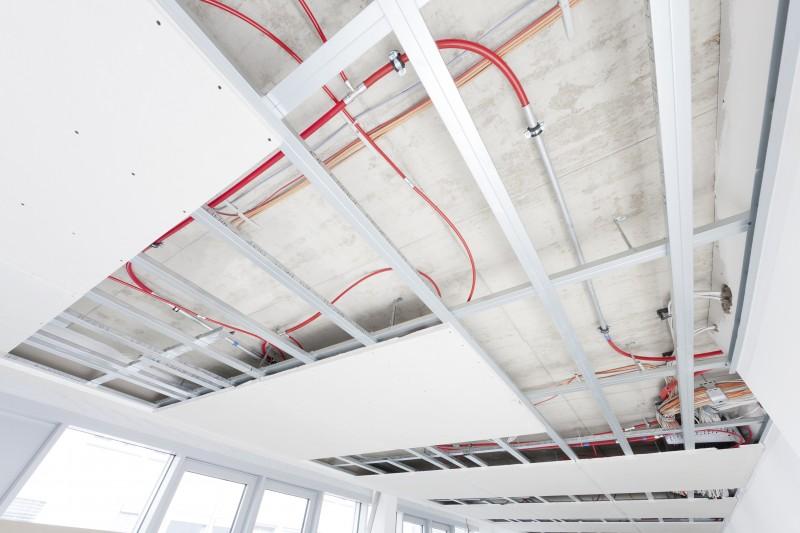 Projektovanie-stropné chladenie