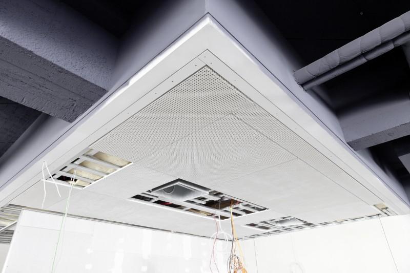 Systém stropného chladenia